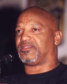Geronimo ji jaga (Pratt) former leader of Black Panther Party, Los Angeles; framed by FBI for a murder he did not commit.